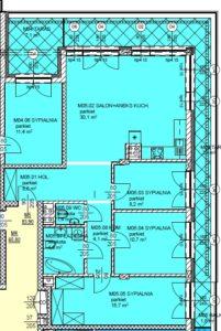 Mieszkanie 5 Czteropokojowe