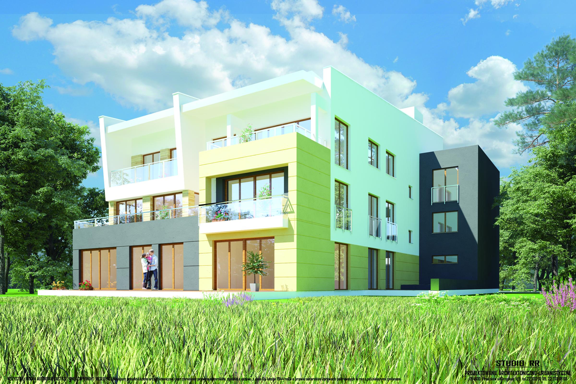 Bardzo dobra Nowe mieszkania w Pruszkowie przy ulicy Owocowej 7 DM64